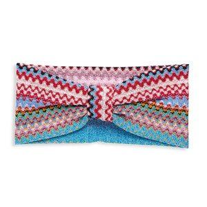 NWT MISSONI Multicolored Chevron Headband